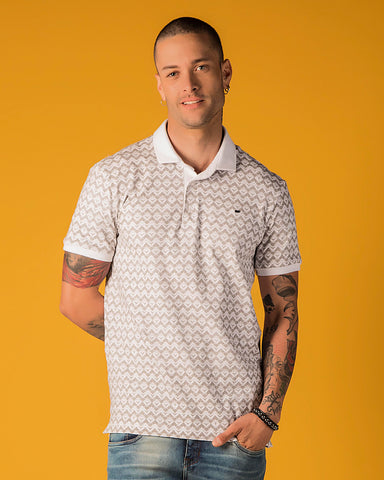 POLO CONFORT FULL PRINT