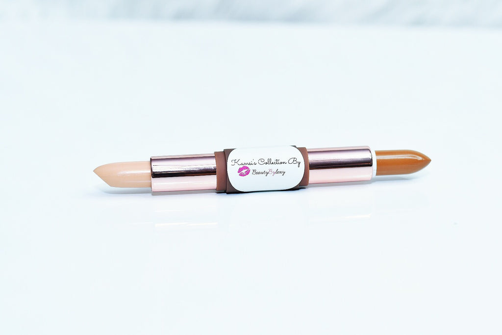 Double ended concealer stick