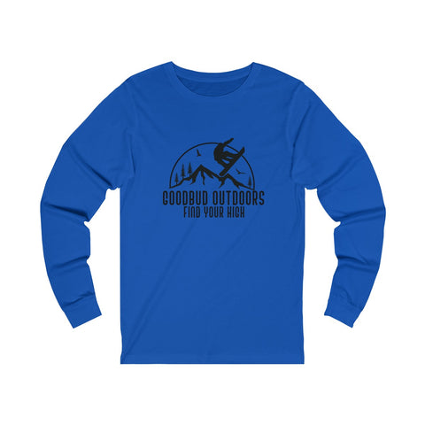 Image of Goodbud Outdoors Vintage Snowboarding Long Sleeve