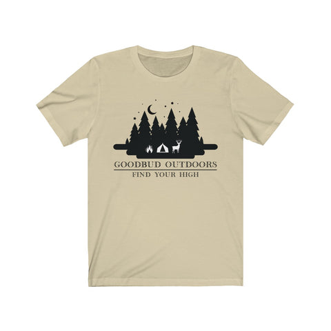 Image of Goodbud Outdoors Vintage Camping TShirt