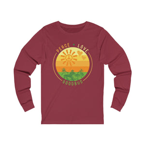 Long Sleeve Peace Love and Goodbud