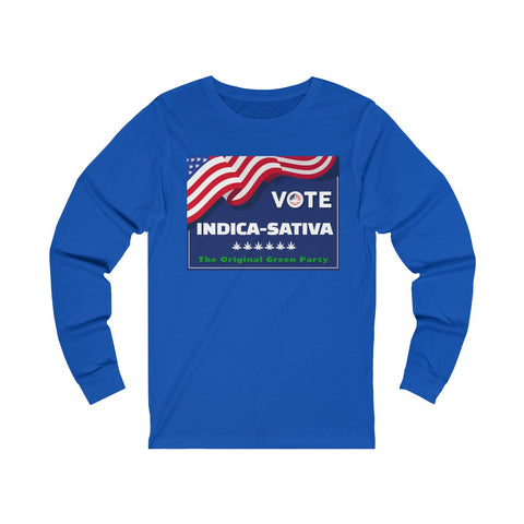 Image of Long Sleeve The Original Green Party