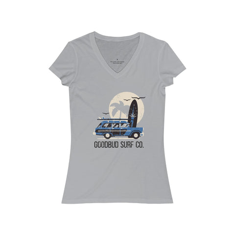 Image of Women's V-Neck Goodbud Surf