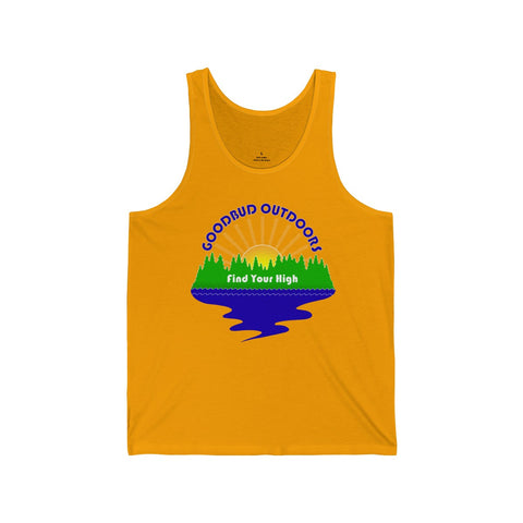 Image of Men's Tank Goodbud Outdoors