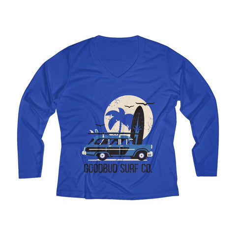 Image of Women's Long Sleeve Performance Surf Co