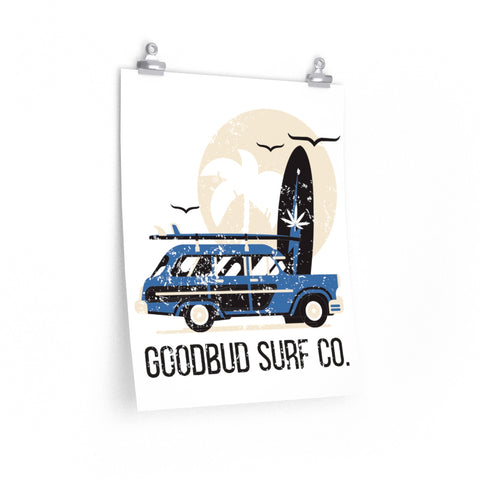 Image of Posters Goodbud Surf Co.