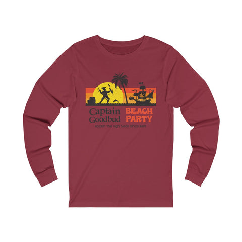 Image of Long Sleeve Captain Goodbud Beach Party