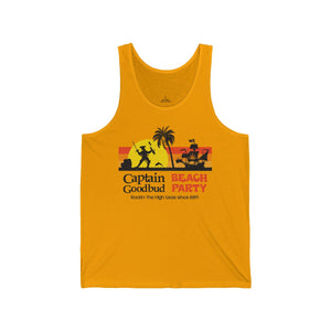 Men's Tank Captain Goodbud Beach Party