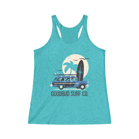 Image of Women's Tanktop Goodbud Surf Co.