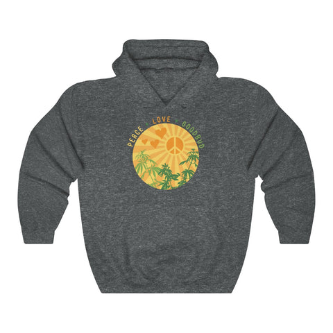 Image of Peace, Love, Goodbud Hoodie
