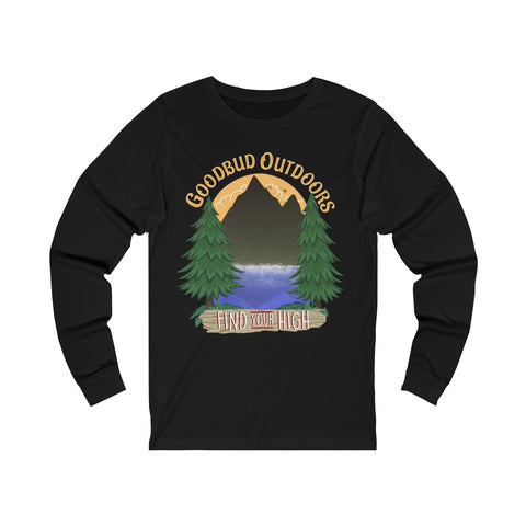 Image of Long Sleeve Goodbud Outdoors Find Your High
