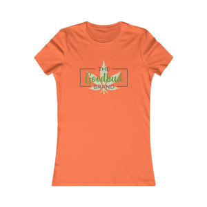 Women's Goodbud Leaf Logo