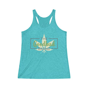 Women's Tanktop Goodbud Leaf Logo