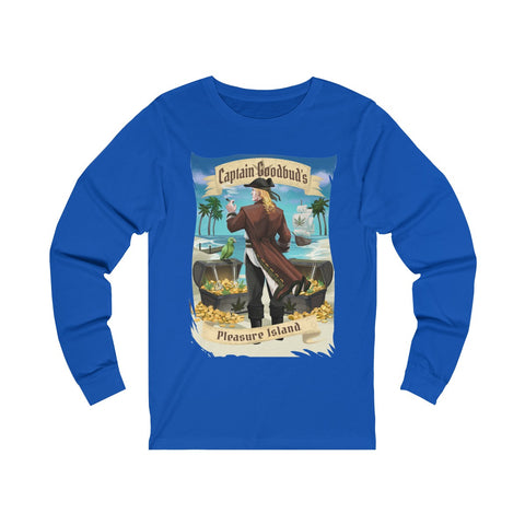 Image of Long Sleeve Captain Goodbud's Pleasure Island