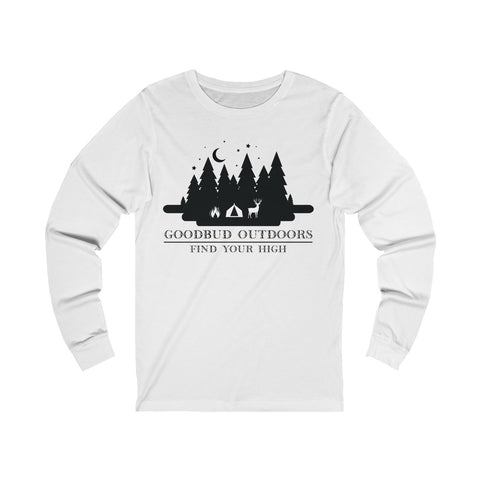 Image of Goodbud Outdoors Vintage Camping Long Sleeve