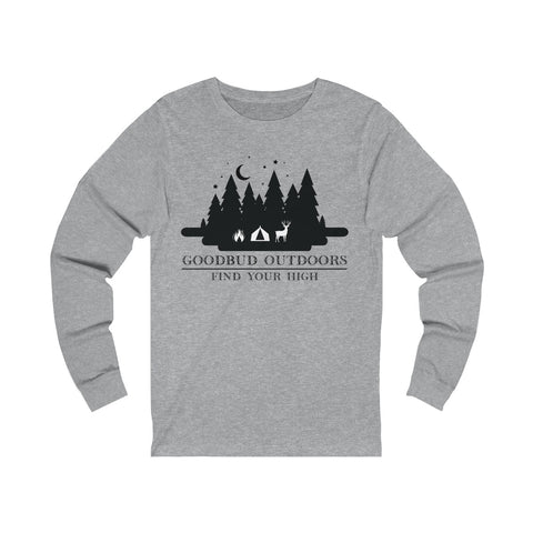 Goodbud Outdoors Vintage Camping Long Sleeve
