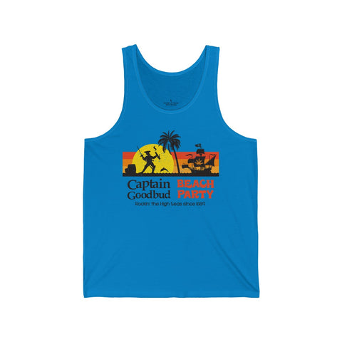 Image of Men's Tank Captain Goodbud Beach Party