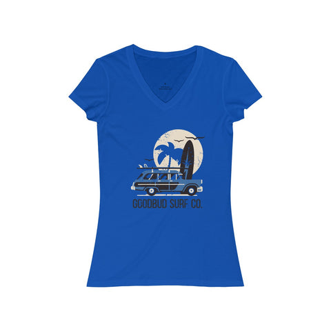 Women's V-Neck Goodbud Surf