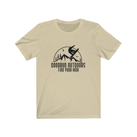 Image of Goodbud Outdoors Vintage Snowboarding T-shirt