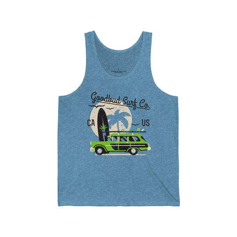 Image of Men's Tank Goodbud Surf Co. Alternative