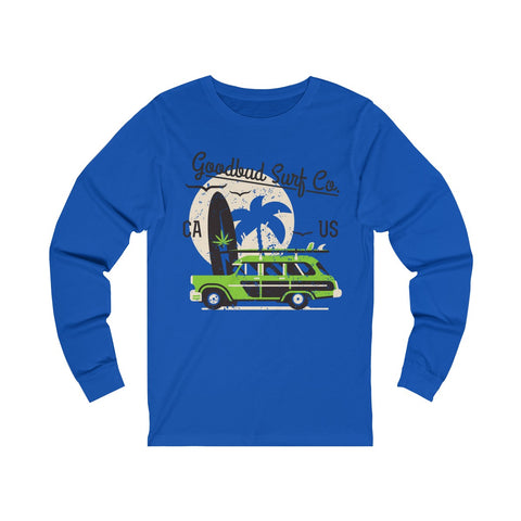 Image of Long Sleeve Goodbud Surf Co. Alternate