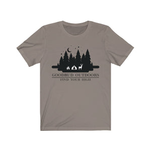 Goodbud Outdoors Vintage Camping TShirt