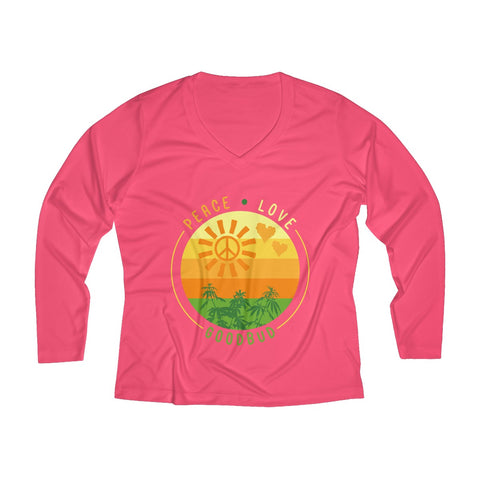 Image of Women's Long Sleeve Performance V-neck Tee