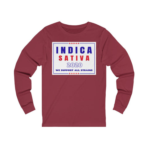 Image of Long Sleeve We Support All Strains