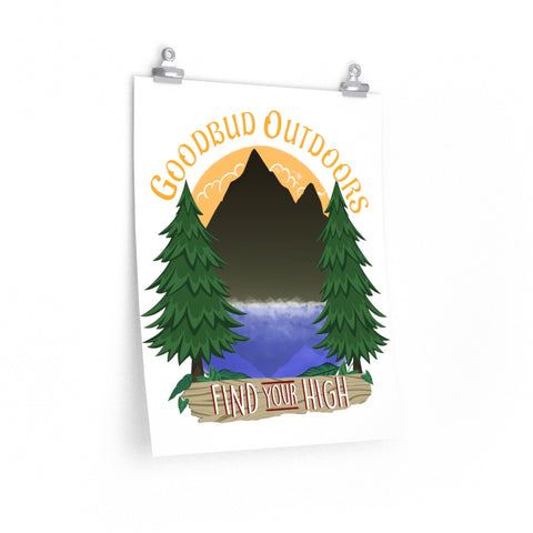 Image of Posters Goodbud Outdoors