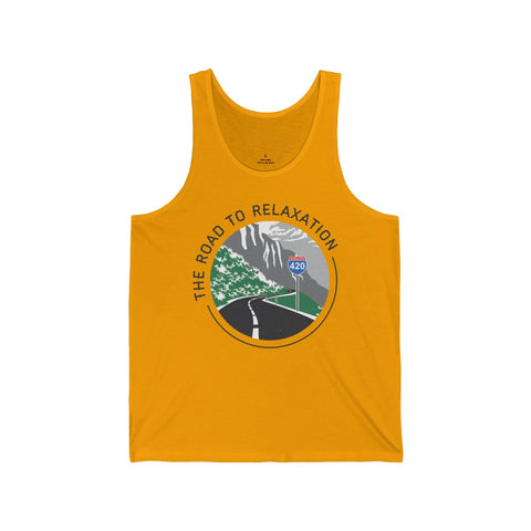 Image of Men's Tank Goodbud Road To Relaxation