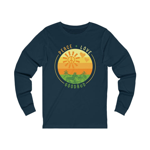Image of Long Sleeve Peace Love and Goodbud