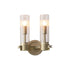 REPLICA CHAMONT DOUBLE WALL LIGHT | 2 LIGHTS