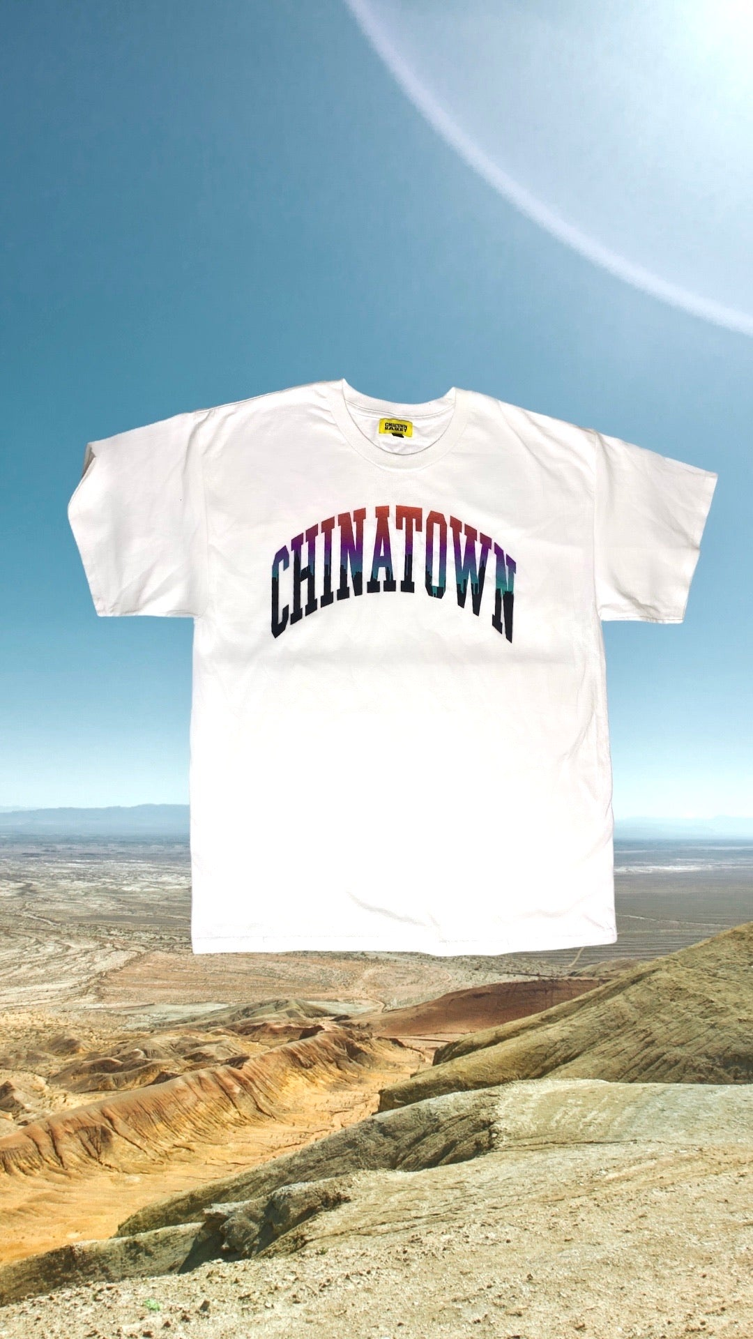 Chinatown Market Arc ombré city Tee