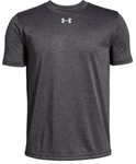 Youth UA Locker Tee - Carbon