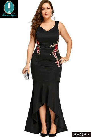 10 Wedding Guest Dresses For Plus Size Women In Fall ...
