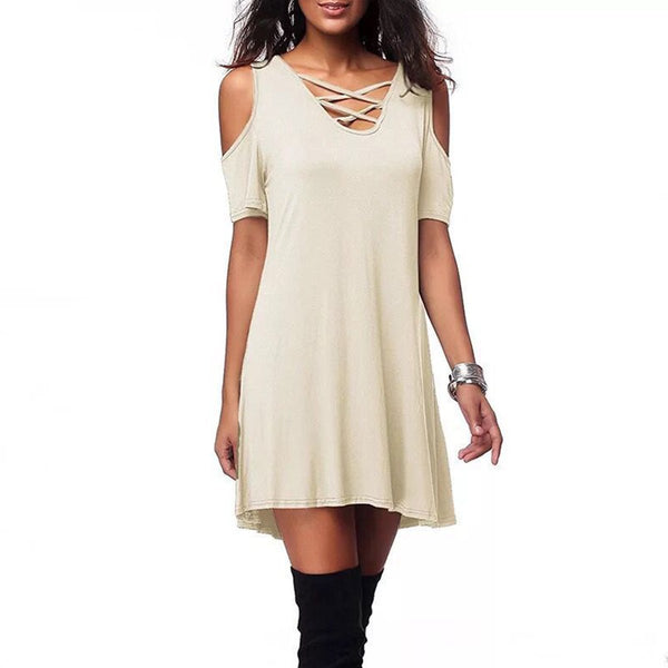 More Colors Big Size Shift Dress
