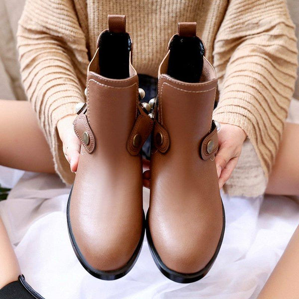 Women Booties Casual Shoes