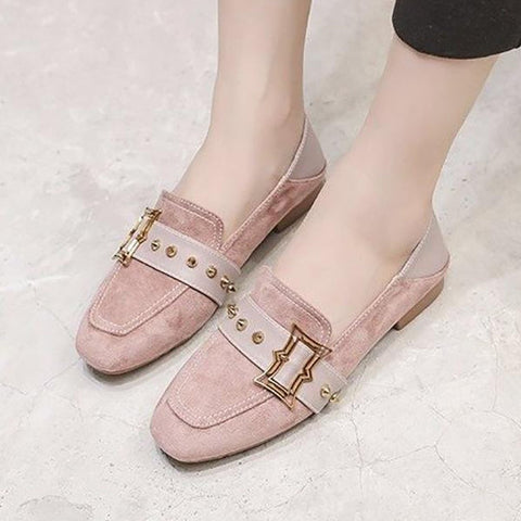 Square Head Retro Versatile Flats