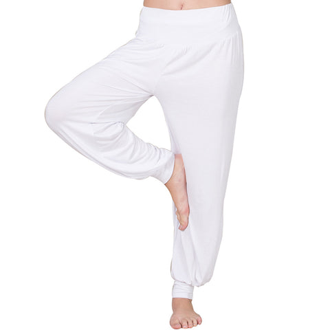 Women's Plus Size Thin Soft Pants Yoga Pants Home Pants Lantern Pants