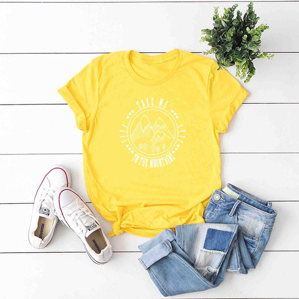 Fashion leisure cotton short sleeve T-shirt