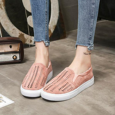 Casual Hollow Flat Shoes