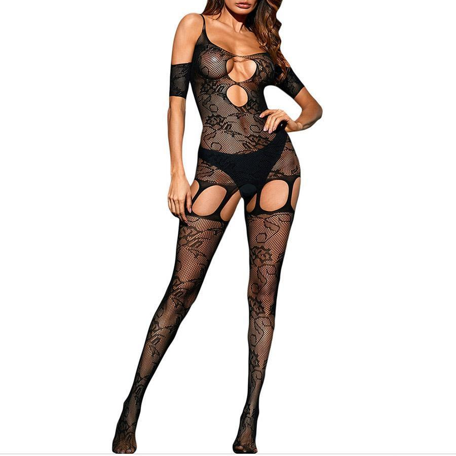 CHICWESTYLE Strapless Cutout Pantyhose