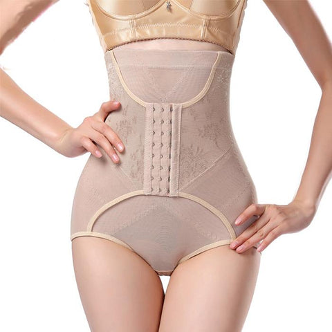 High waist and abdomen body shaping waist and waist briefs