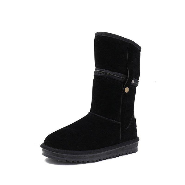 Women's Detachable Non Slip Warm Snow Boots