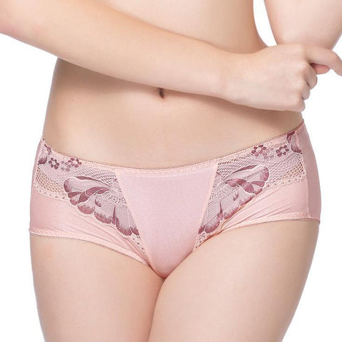 Sexy Lace Mid-Rise Hips Comfortable Boxer Briefs