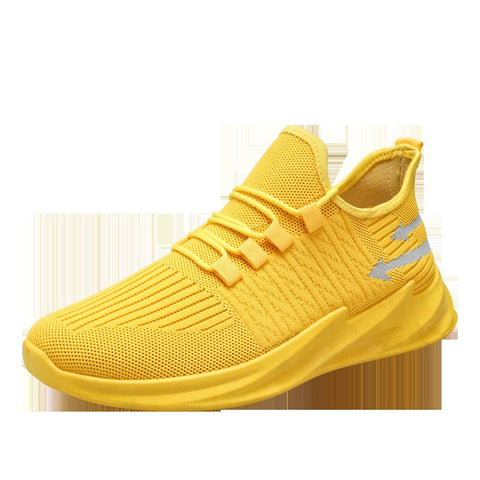 Sneakers Running Shoes Women Casual Shoes Trainers Walking Sports Shoes Knitted Breathable Ladies Sneakers