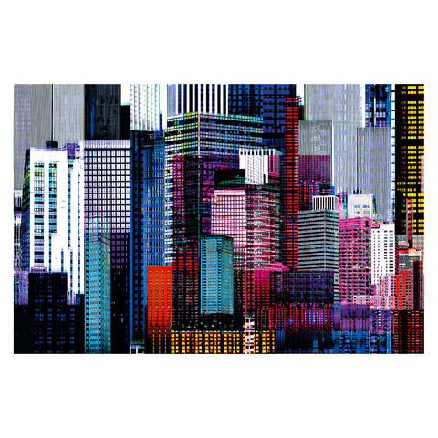 Colourful Skyscrapers – Giant Art