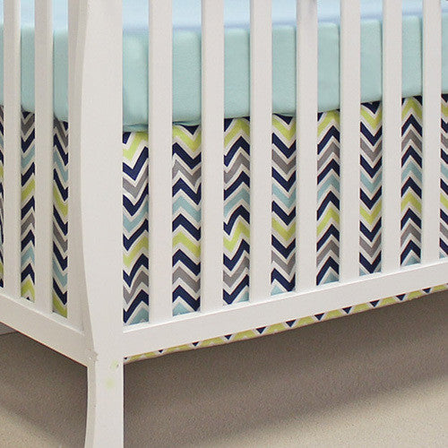 2pc Chevron Navy