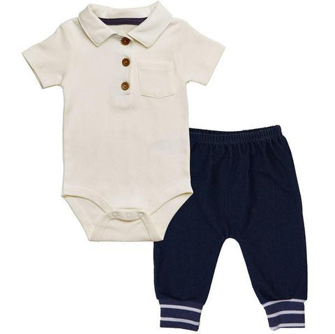 2 Pc Denim Set | 6 - 9M