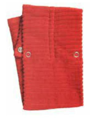 Hang-up Dishtowel Red - Madison Mackenzie Home